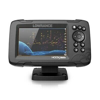 Lowrance Hook Reveal 83/200 - 5 HDI NEW Fishing Fish Finder - X5007 • 296.99£
