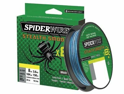 Spiderwire Stealth Smooth 8 Braid 300M *All Colours & Breaking Strains* NEW • 24.99£