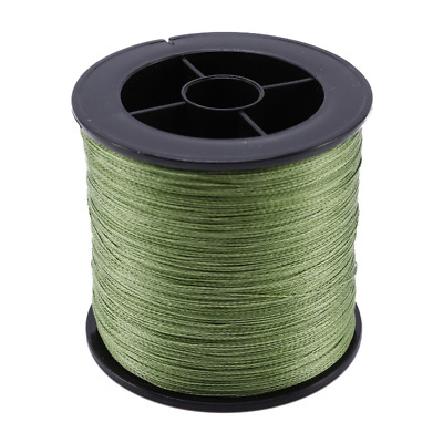 500M PE Spectra Braided Fishing Line Super Strong 4 Strands Fish Line 30LB UK • 10.67£