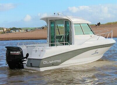 New Olympic 620C Pilothouse Fast Fisher Weekend Boat !!! • 29,699£
