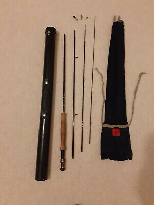 House Of Hardy Carbon Exclusive #5/6 Vintage Fly Fishing Rod • 51£