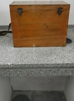Vintage Woode Fishing Seat Box  • 30£