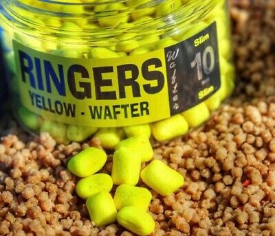 RINGERS NEW CHOCOLATE YELLOW 10mm SLIMS , WAFTERS , NEW RELEASE • 7.95£