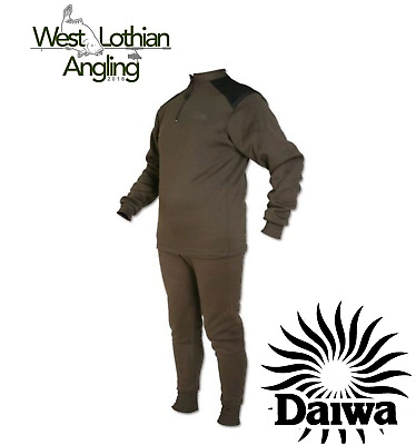 Daiwa Sleep Skin Thermal Layer 2 Piece Winter Fishing Suit *All Sizes Available* • 39.99£