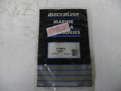 Mercury/Mariner/QS Outboard Motor Spares. Powerhead To Base Gasket. 27-92874 New • 5.99£