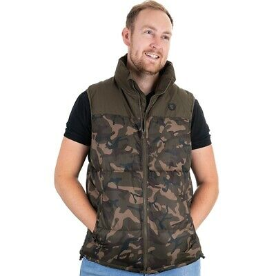 Fox Camo Khaki RS Gilet Small SALE Carp Fishing Camo Gilet NEW - CFX031 • 25.99£