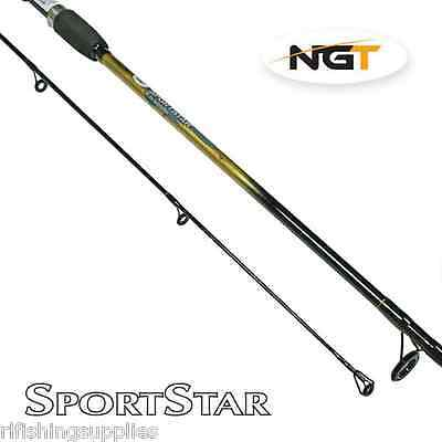 Brand New 6ft 2 Piece Ngt Sportstar Spinning Rod For Perch Pike River Fishing • 15.35£