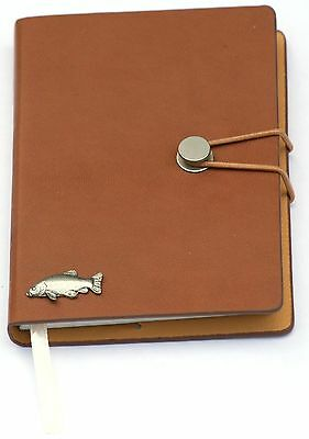 Tench Pewter Emblem A6 Notepad Notebook Pocket Size Ideal Coarse Fishing  368 • 14.99£