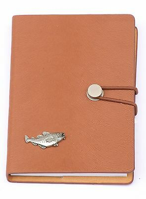 Cod Fish Design A6 Notebook Pocket Size Notepad Ideal Fishing Gift 79 • 14.99£