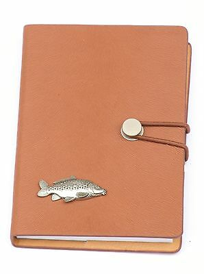 Mirror Carp Style A6 Notebook Pocket Size Notepad Ideal Fishing Gift 240 • 14.99£