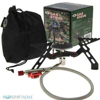 Fishing Gas Portable Stove NGT Compact High Output 3000w Camping Cooker • 22.95£
