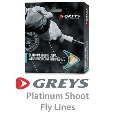 Greys Platinum SHOOT Floating Fly Line (White) * 2020 Stocks *  • 24.99£