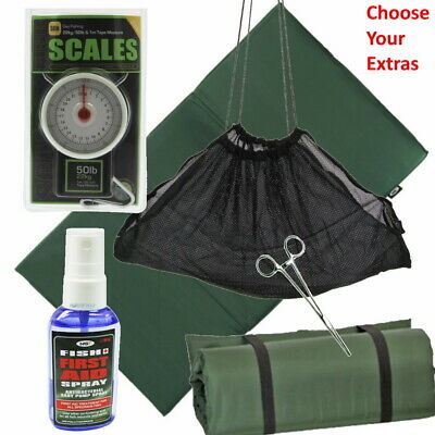 NGT Unhooking Mat Or Weigh Sling Scales Antiseptic Spray Forceps Carp Fishing • 21.95£