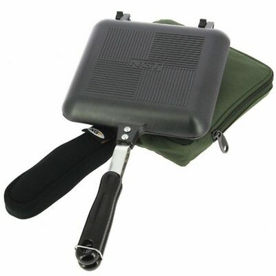 NGT Toastie Maker XL And Case Carp Fishing Camping Sandwich Toaster Cooker • 19.75£