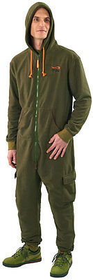 TF Gear NEW Chill Out Thermal Lined Warm Carp Fishing All In One Suit Ex Demo • 28£