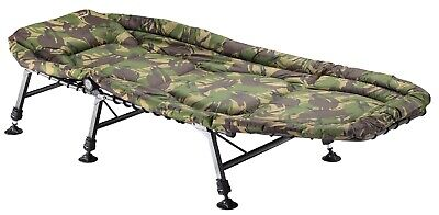 TF Gear NEW Carp Fishing Camping Survivor Bed Strong And Lightweight Ex Demo • 84.99£