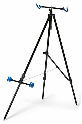 Deluxe Beach Pro Tripod System For 2 Rods Reels Extendable In Case Sea Fishing • 41.87£