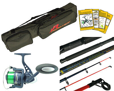 10ft Telescopic Sea Fishing Rod, Reel And Holdall Bag. Hunter Pro British Made • 38.99£