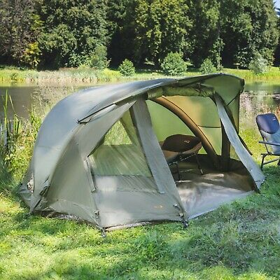 TF Gear NEW Airflow Bivvy Mk3 1 Or 2 Man Carp Fishing Tent & Overwraps Available • 119.99£
