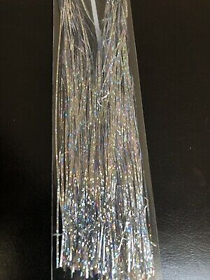 Magnum Silver Holographic Tinsel Flashabou • 2.75£
