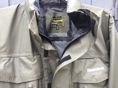 Mens Snowbee Geo Wading Jacket Size M Colour Olive • 40£
