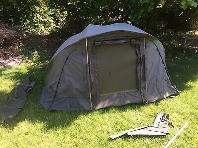 Fox Supa Brolly System Fishing Tent With Front Awning • 55£