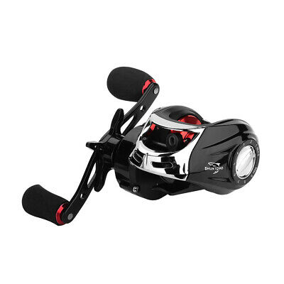 18+1BB Low Profile Baitcasting Fishing Reel 7.2:1 Speed Right Hand Fish Reels UK • 16.87£