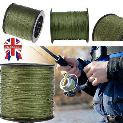 500M 30LB-100LB Strong Spectra Extreme PE Braided Sea Fishing Line Hot • 10.99£