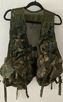 Mens Multi Pocket Camo Utility Vest Fishing Hunting Worn Once. Very Heavy.  • 0.99£