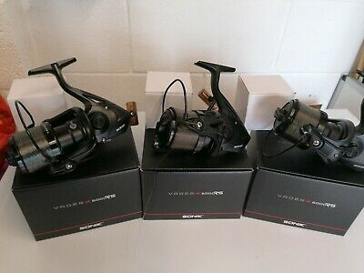 Sonik Vader X 6000rs Big Pit Reels X 3 / Carp Fishing  • 112£