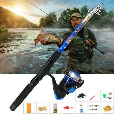 NEW Starter Fishing Kit Set For Beginners/Kids Carp/Coarse Rod Reel 180M UK SH • 12.19£