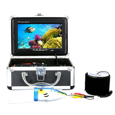 7Inch 1000tvl Underwater Fishing Video Camera Kit 12PCS LED  Infrared Lamp • 99.13£