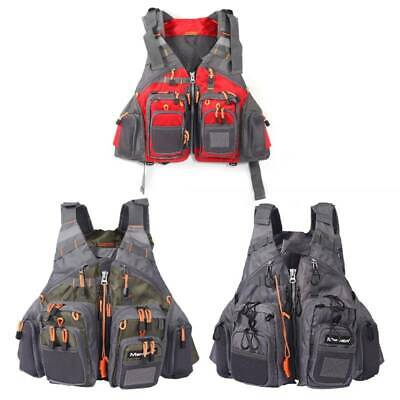 Maxcatch Fly Fishing Backpack Adjustable Size Mesh Fishing Vest Pack • 24.84£