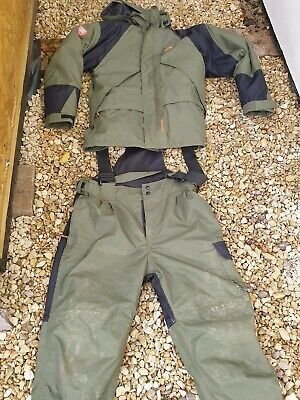 Waterproof Fishing Suit Kinetics Vapatex In Excellent Condition Warm Size Large. • 24£