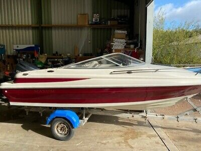 Maxum 1700 XC Speedboat With Trailer A Yamaha F100 4/stroke Outboard • 6,500£