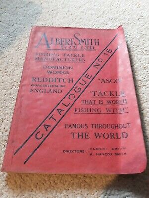 Albert Smith & Co. Limited Fishing Catalogue, No.18, April 1937, With Inserts  • 6£