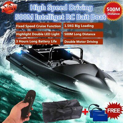 500M RC Wireless Fishing Bait Boat D13 Fish Finder Rowing Nesting Ship Speedboat • 98.98£