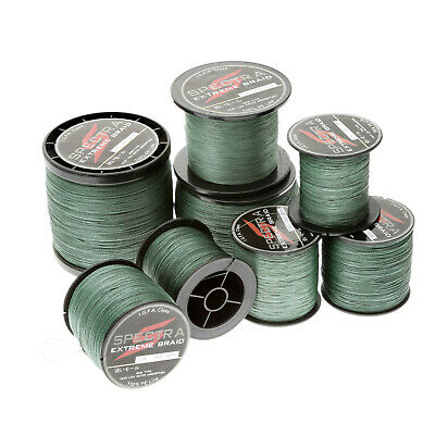 Strong Braided Lines 100/300/500/1000M Dyneema Spectra Sea Braided Fishing Line • 7.98£