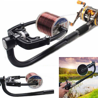 Portable Fishing Line Winder Reel Spooler Machine Spooling Station System • 18.99£
