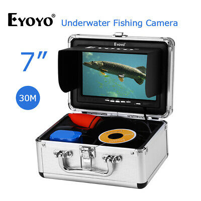 EYOYO 30M 98ft Underwater Fishing Camera HD 1000TVL Waterproof IP68 Fish Finder • 130.39£