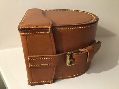 Block Leather Fishing Reel Case • 225£
