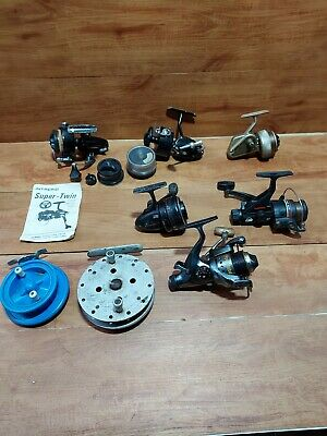 Vintage Fishing Reels Joblot • 50£