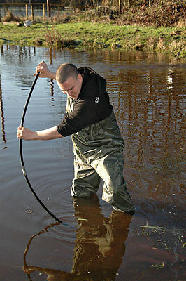 Bison Pvc / Nylon Chest Waders Sizes 7 8 9 10 11 0r 12 • 22.99£