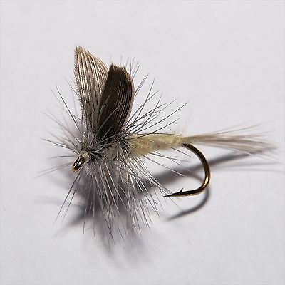 PALE MORNING DUN Dry Fly Trout  Fly Fishing Flies By Dragonflies          • 3.05£