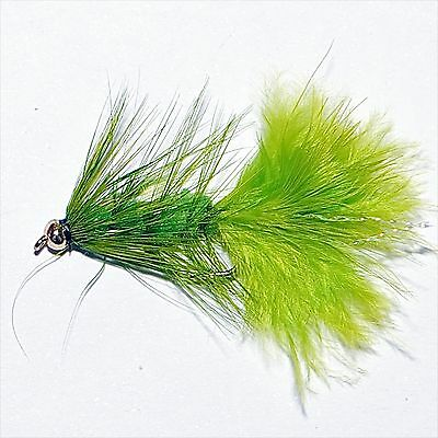 Gold Head Woolly Buggers Trout Fly Fishing Flies Lures Streamers Size 8 • 4.44£