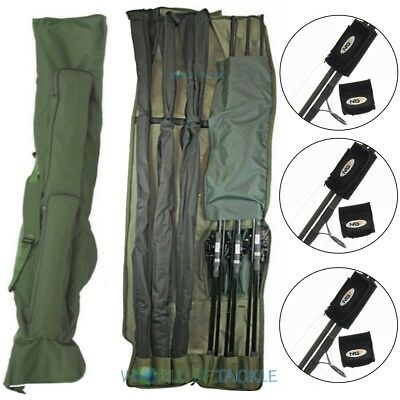 Rod Holdall Carp Fishing Bag 3 + 3 12ft Rods And Reels WITH 3 ROD BANDS NGT  • 40.65£