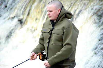 Neoprene Chest Waders And Wading Jacket All You Need Shore Or Salmon Fishing • 74.99£