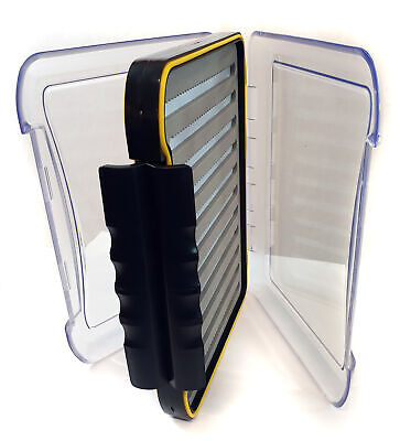 BISON COMPETITION DOUBLE SIDED FLY BOX 12  X 8  • 14.99£