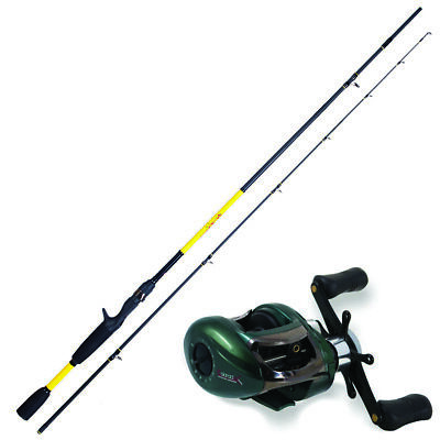 KP3804 Herakles Youth Casting Kit Cast Fish 1.85 M + Colorado Reel • 70.47£