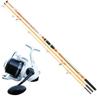 KP3944 Surfcasting Fishing Kit Canna Kronos Cast Master 420 + Hummer Reel • 106.25£